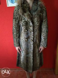 Ženska bunda-Leopard-sniženje