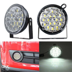 LED maglenke za auto dnevna svjetla za auto BIJELA LED