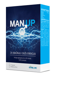Man UP kapsule erekcija potencija sex