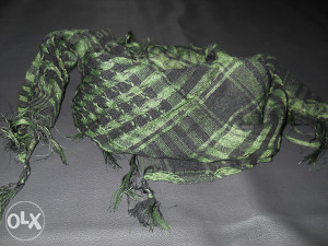 Engleska SAS Shemagh marama (zelena)