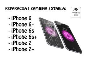 Zamjena ( reparacija ) stakla Iphone