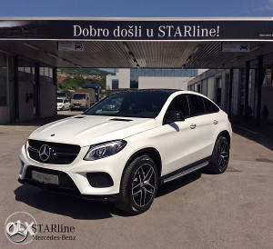Mercedes - Benz GLE  350 d 4MATIC COUPE