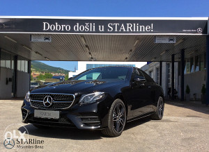 Mercedes - Benz E 220d 4MATIC COUPe - AMG Line