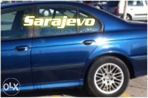VRATA zadnja lijeva BMW 5 e39 dijelovi