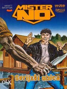 Mister No 7 - Serijski ubica (VČ, GLANC)