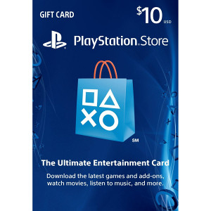 PSN Playstation Network $10 Card US