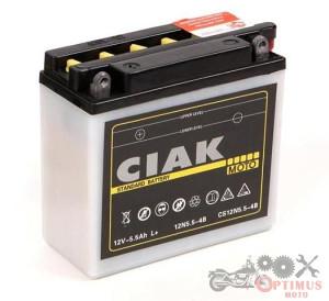 CIAK STARTER MOTO 12V - 5,5AH L+