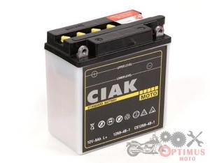 CIAK STARTER MOTO 12V - 9AH L+ (135x75x140)