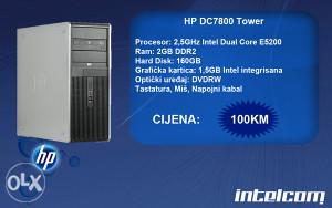 HP DC7800 Tower Dual Core