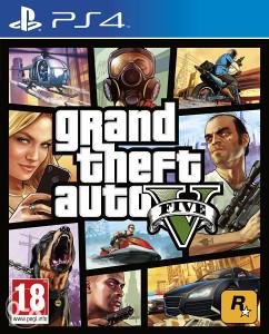 GRAND THEFT AUTO V 5 GTA 5 GTA V PS4