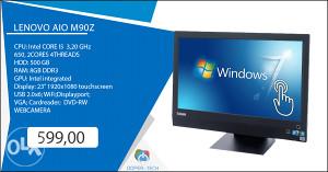 """Racunar AIO Lenovo 23"""" touchscreen"""