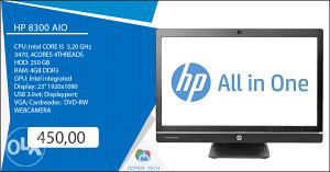 """Racunar AIO HP 8300 23"""""""