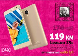 Leagoo Z5c - 5inch | 1+8GB | Android 6.0 | Dual SIM