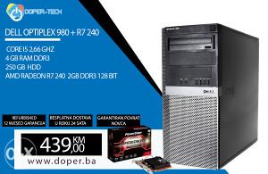 RAČUNAR CORE I5 2,66 4GB RAM; R7 240 2GB DDR3