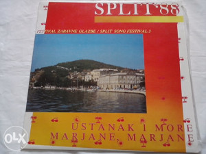 Split '88 - Ustanak I More - Marjane, Marjane lp