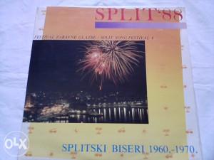 Various – Split 88 - Splitski Biseri 1960.-1970. lp