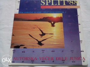 Split '88 - Autorska Večer Đele Jusića lp