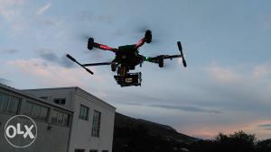 Dron Multirotor FCT-Mostar - Snimanje i prof. oprema .