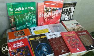 Knjige za 1i 2 razred gimnazije,opsti smjer