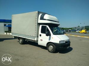 Fiat Ducato 2.8 JTD kamion sa prikolicom