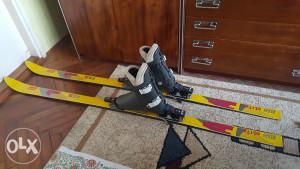 Skije elan i pancerice san marco 187,5 cm