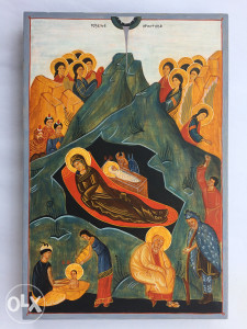 Ikona Rođenje Hristovo