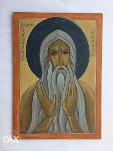 Ikona Sveti Makarije Veliki