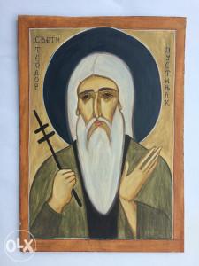 Ikona Sveti Teodor Pustinjak