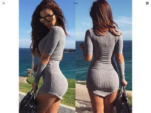 Zenska mini haljina majica DOSTUPNO