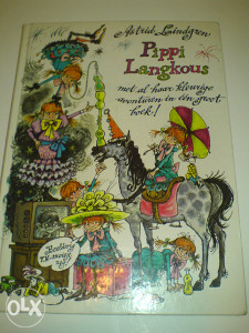 knjige holandski Astrid Lindgren:  Pippi Langkous