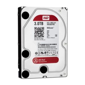 HDD Desktop WESTERN DIGITAL RED 3TB WD30EFRX 3Yr