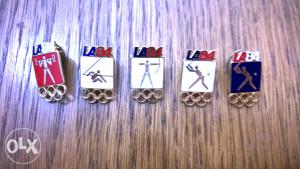 Olimpijske znake LA 84