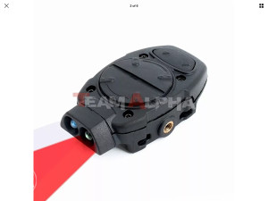 Tactical White/Red Back Up Light