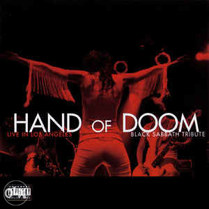Hand of Doom - Live in Los Angeles, B. Sabbath Tribute