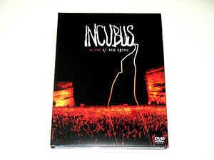 Incubus - Alive at Red Rocks - Digipack DVD/ CD Set