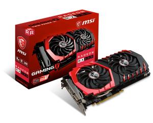 MSI Radeon RX 580 GAMING X 8G RX 580 8GB GDDR5
