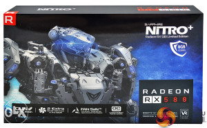 SAPPHIRE  RX 580 8GB GDDR5 NITRO+ ,majning , mining