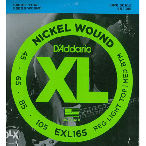 Zice za bas gitaru Daddario EXL165