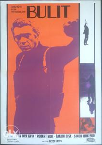 BULIT STEVE MCQUEEN original kino poster plakat