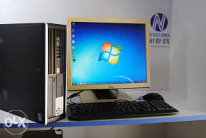 HP 8000 / 4 GB DDR3 RAM + 1GB GRAFIKA+ LCD MONITOR