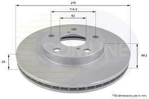 Disk pr.TOYOTA RAV4 2000.-