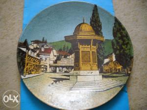 Suvenir Ukrasni tanjir Sarajevo