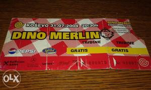 Ulaznica Dino Merlin