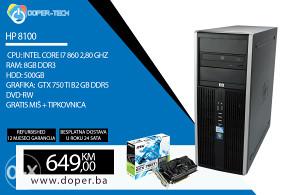 RAČUNAR HP 8100 i7 860 2,80 GHz 8 GB RAM