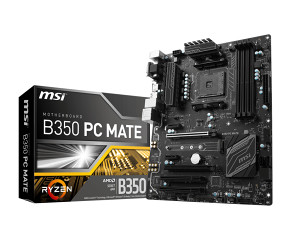 MSI B350 PC Mate AM4 Ryzen