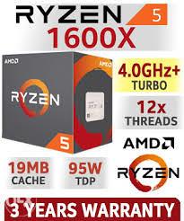 AMD Ryzen 5 1600X 12x3.6-4.0GHz AM4