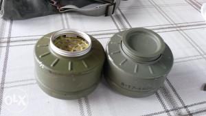 FILTERI ZA VOJNU BUTNU GAS MASKU-2.KOMADA-NOVO