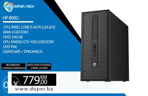 Računar HP 800G i5 4570 3,20 GHz 4 GB RAM GTX 1050 2GB