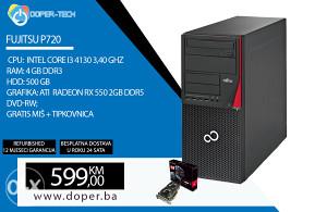 Računar Fujitsu P720 i3 3,40 GHz 4 GB RAM RX 550 2GB
