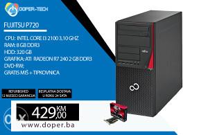 Fujitsu P720 i3 3,10 GHz 8GB RAM ATI R7 240 2 GB